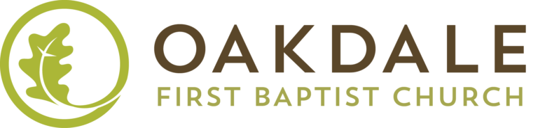 Oakdale First Baptist Church's Horizontal Logo